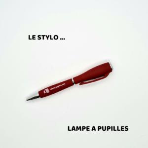 STYLO LAMPE A PUPILLES