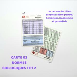 03 LES NORMES BIOLOGIQUES 1 ET 2