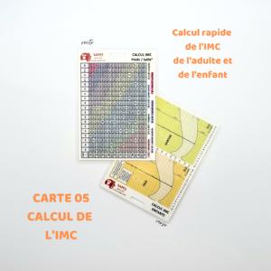 05 LE CALCUL DE L'IMC