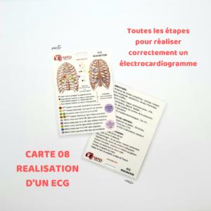 08 LA REALISATION DE L'ECG