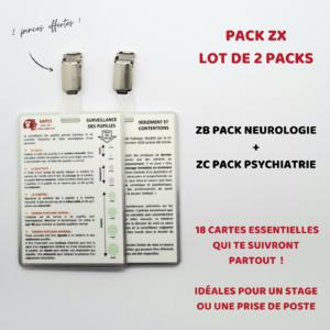 ZX LOT DE 2 PACKS
