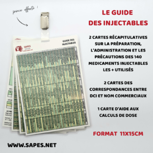 ZD GUIDE DES INJECTABLES